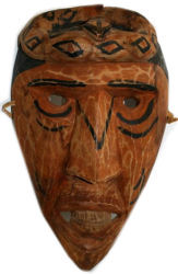 Handcarved Cherokee Mask