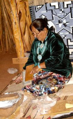 Native American Art Navajo Blanket Weaving