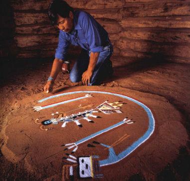 navajo art sand painting overview navajo sand paintingNavajo Art