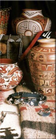 Image of southwestern pottery