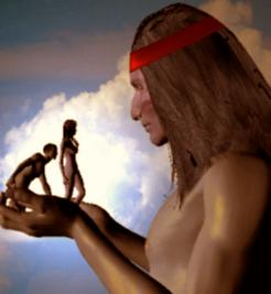 Apache Indian Creation Legend Image