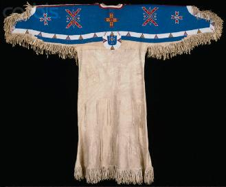 Native American clothing of the Sioux, 1890