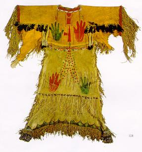 Sioux Native American Ghost Dress, 1890