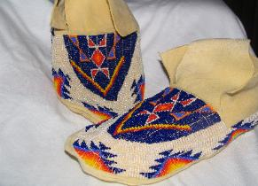 Lakota Beaded Moccasins